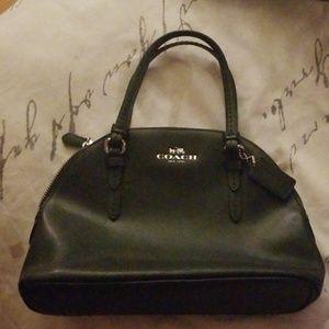 REAL leather Coach mini satchel